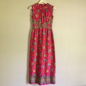70's Vintage Maxi Dress